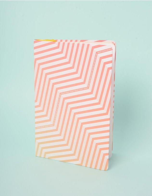 Блокнот у лінію  з написом | 242690-44-XX - A-SHOP