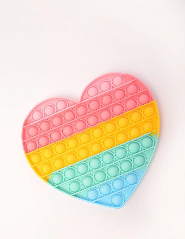Іграшка антистрес pop it у формі серця   249772-21-XX - A-SHOP