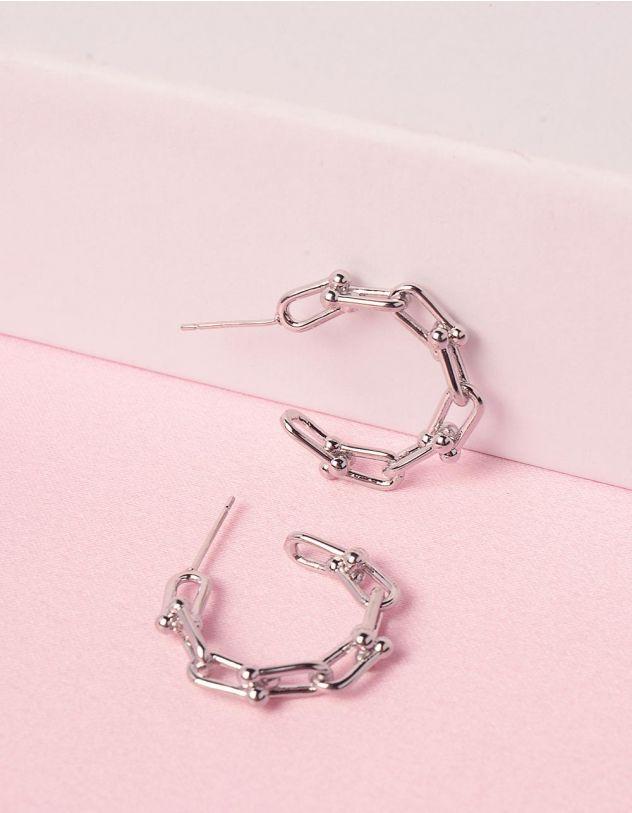 Сережки у вигляді ланцюжка | 248613-05-XX - A-SHOP