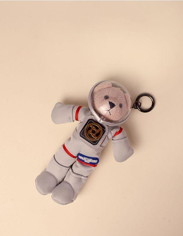 Брелок на сумку у вигляді песика космонавта   246069-11-XX - A-SHOP
