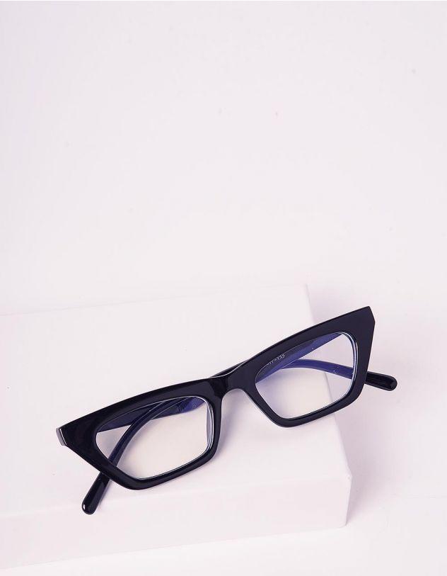 Окуляри лисички з прозорими лінзами   242743-02-XX - A-SHOP
