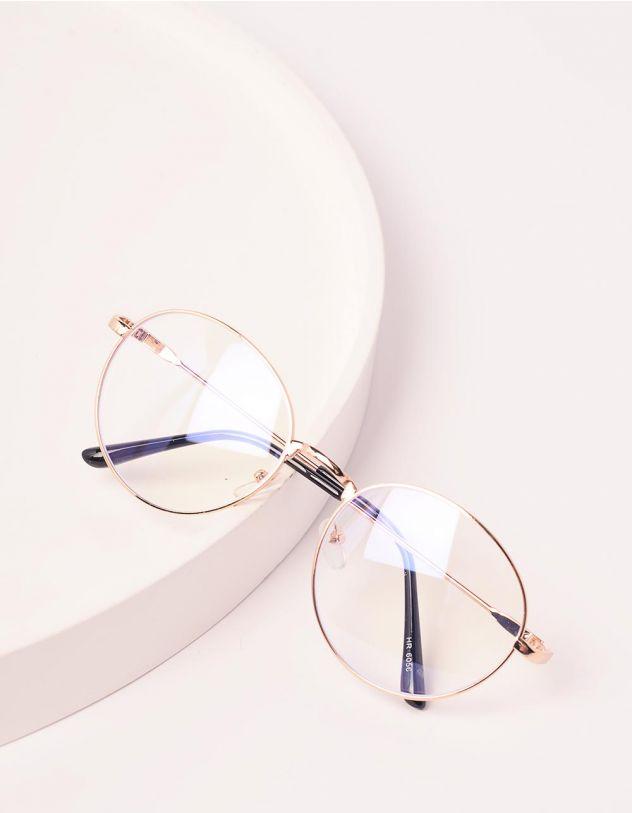 Окуляри іміджеві з прозорими лінзами | 238545-04-XX - A-SHOP