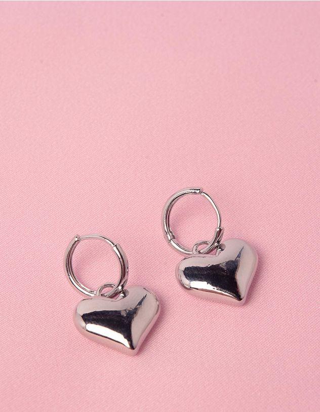 Сережки з серцями | 249128-05-XX - A-SHOP