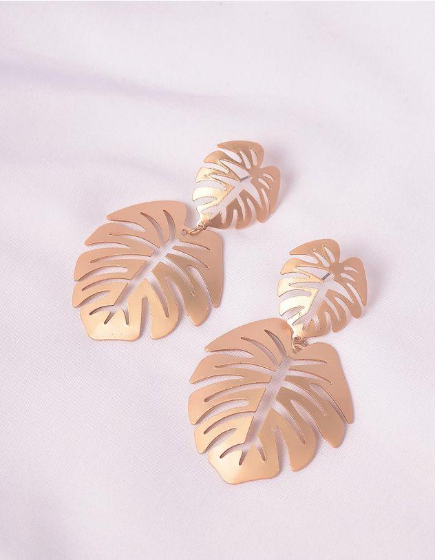Сережки у вигляді листя | 234893-04-XX - A-SHOP