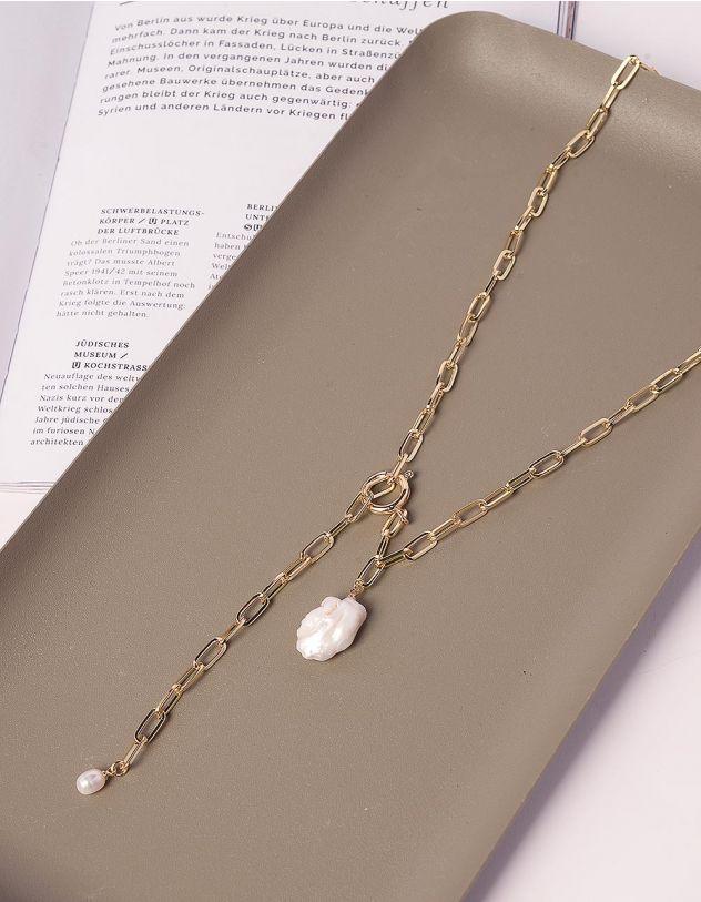 Підвіска ланцюжок з перлиною | 240365-04-XX - A-SHOP