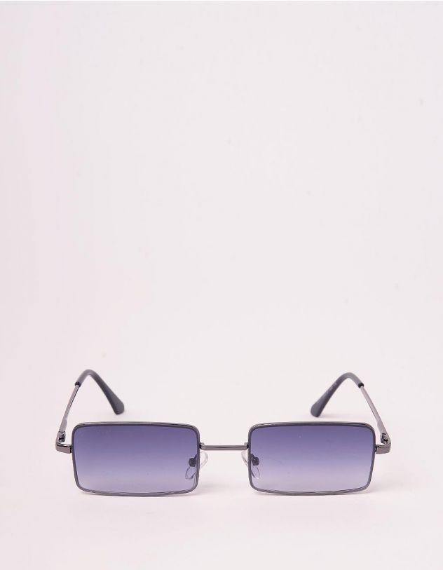 Окуляри сонцезахисні вузькі з тонкими дужками | 243260-28-XX - A-SHOP