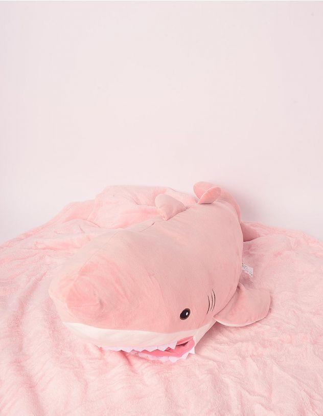 Іграшка м'яка з пледом у вигляді акули   247334-14-XX - A-SHOP