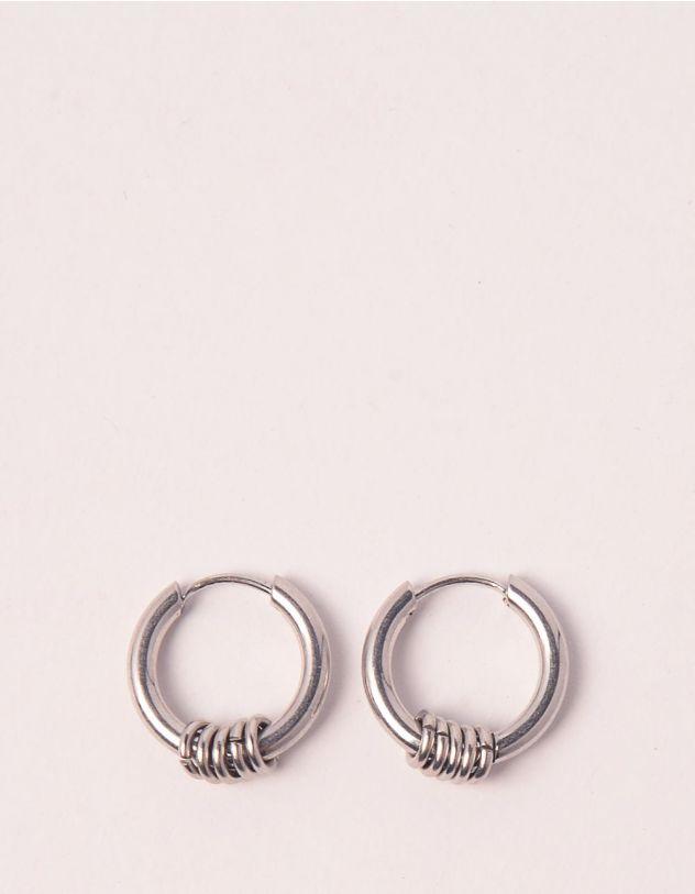 Сережки кільця маленькі з фурнітурою | 248624-05-XX - A-SHOP