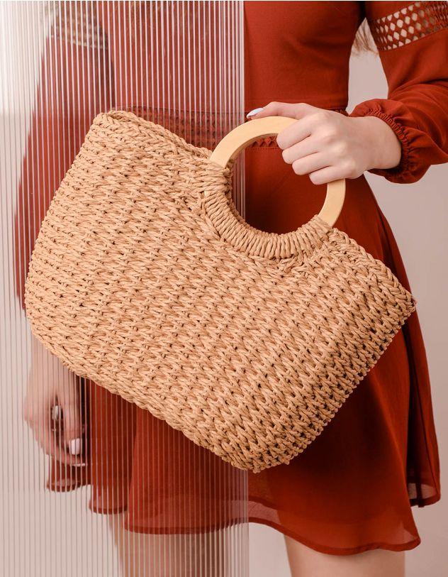 Сумка шопер плетена | 239733-22-XX - A-SHOP