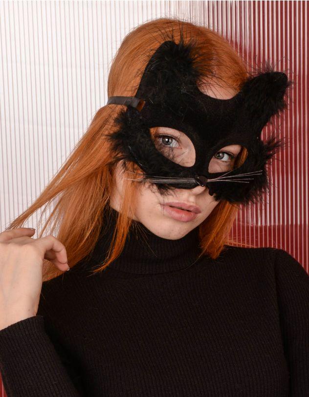Маска карнавальна у вигляді кішки | 238990-02-XX - A-SHOP