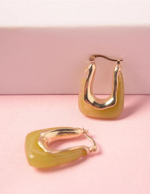 Сережки з камінням | 248475-37-XX - A-SHOP