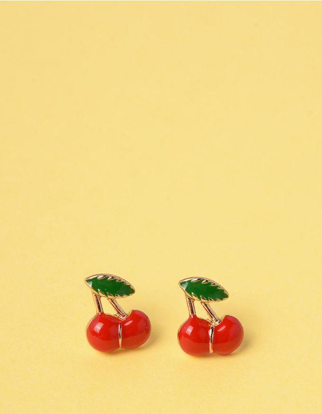 Сережки у вигляді вишень | 246200-55-XX - A-SHOP