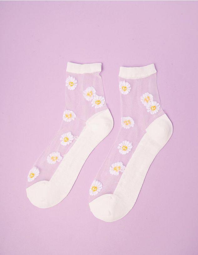 Шкарпетки з ромашками | 243122-01-XX - A-SHOP