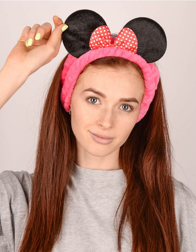 Пов'язка на голову косметична у вигляді Мінні Маус | 242162-17-XX - A-SHOP