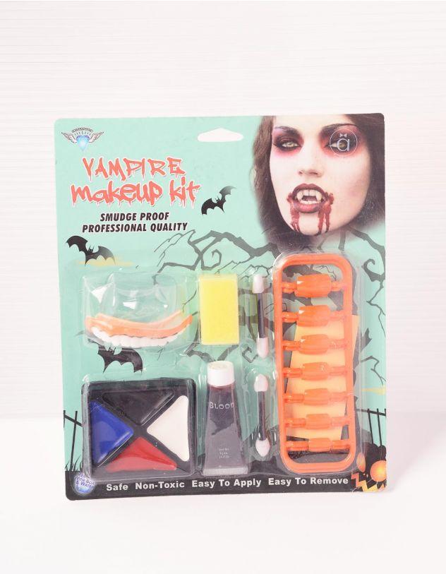 Набір для гриму на хелоуін зі штучними зубами та кров'ю | 238925-21-XX - A-SHOP