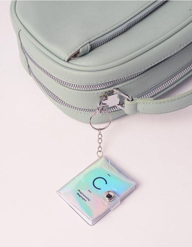 Брелок на сумку у вигляді голографічного записника   240493-05-XX - A-SHOP