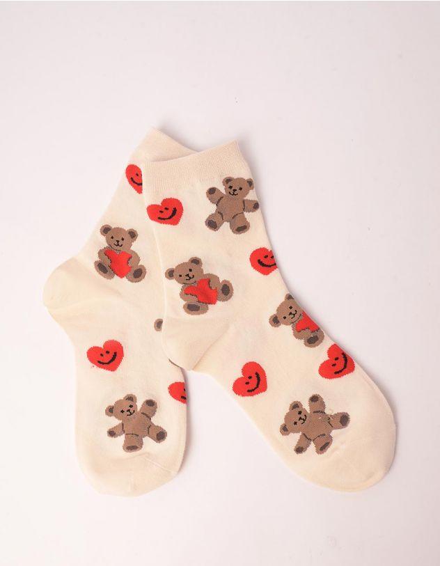 Шкарпетки з принтом ведмедиків   249589-40-XX - A-SHOP