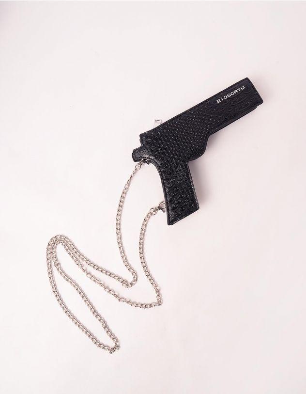 Сумка на ланцюжку у вигляді пістолета | 245371-02-XX - A-SHOP