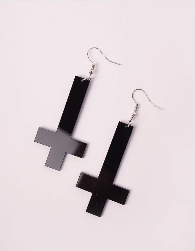 Сережки у вигляді хрестів | 246245-02-XX - A-SHOP