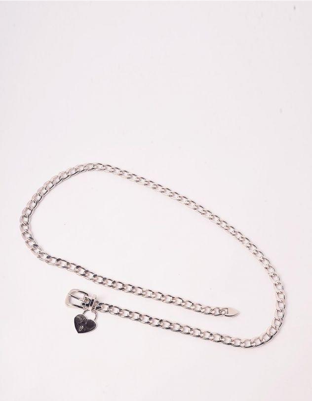 Ремінь на талію із ланцюга з серцем   244400-05-XX - A-SHOP
