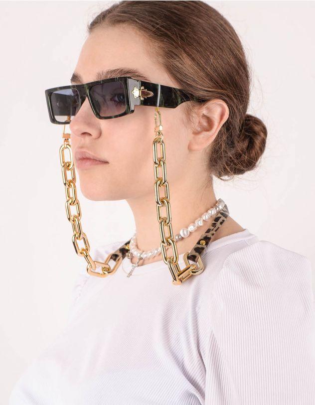 Ланцюжок для окулярів з леопардовим принтом | 246969-04-XX - A-SHOP