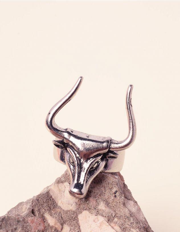Перстень з зображенням бика | 237577-05-XX - A-SHOP