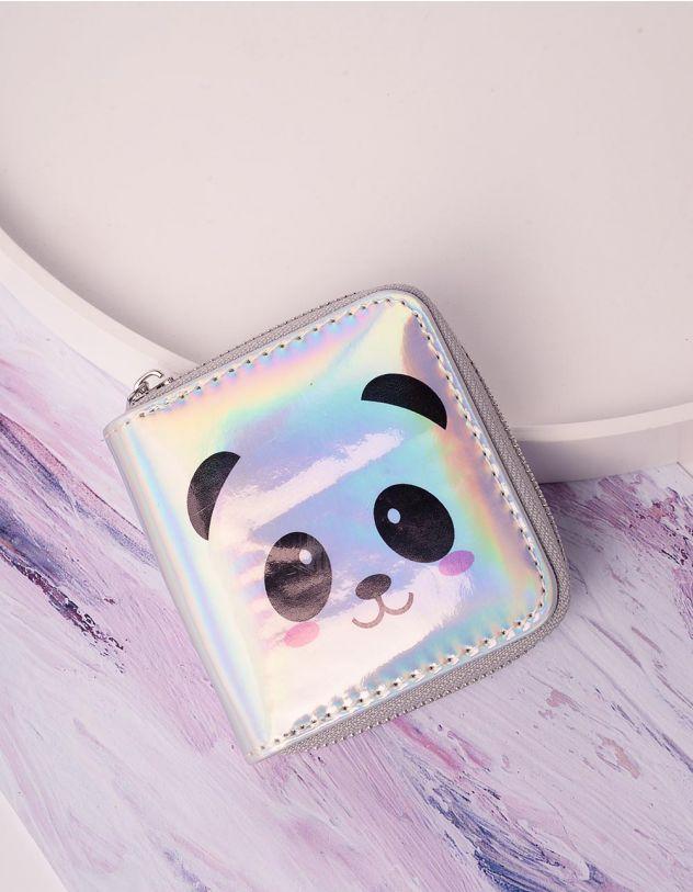 Гаманець з принтом панди | 239227-05-XX