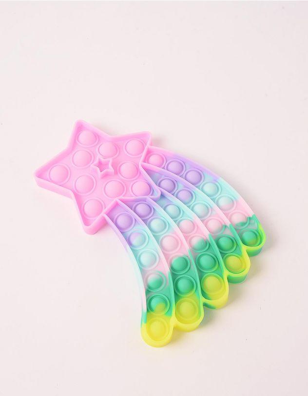 Іграшка антистрес pop it у вигляді зірки комети | 248965-21-XX - A-SHOP
