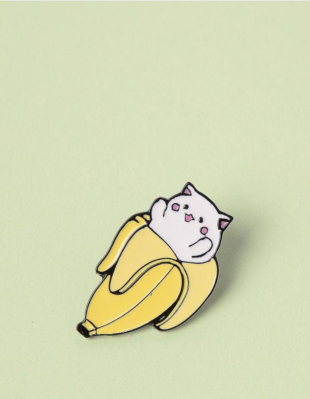 Брошкау вигляді кицьки у банані | 245686-19-XX - A-SHOP