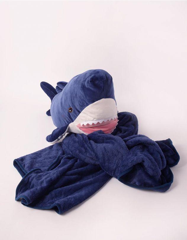 Іграшка м'яка з пледом у вигляді акули   247334-30-XX - A-SHOP