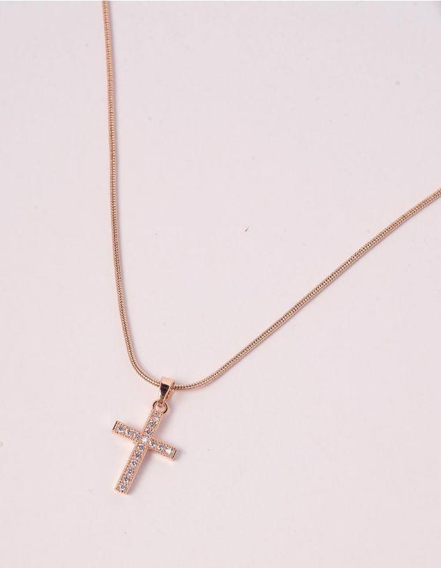 Підвіска на шию з хрестиком | 246810-08-XX - A-SHOP