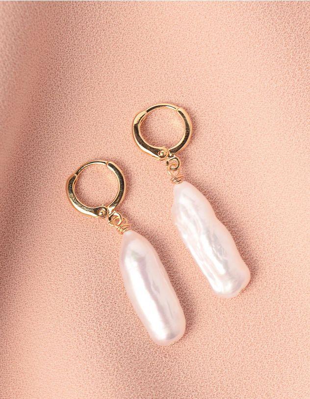 Сережки  з перлинами | 248831-08-XX - A-SHOP