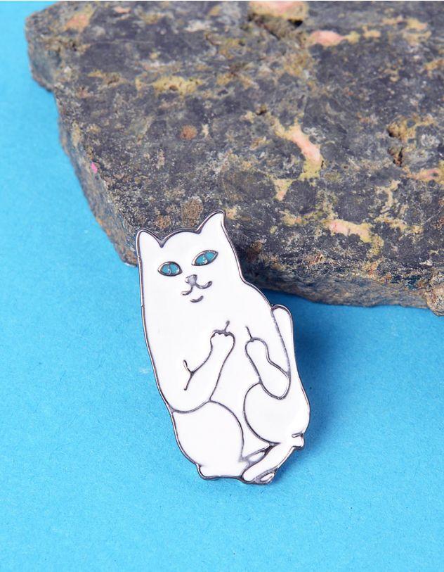 Брошка у вигляді кота LORD NERMAL | 224360-01-XX - A-SHOP