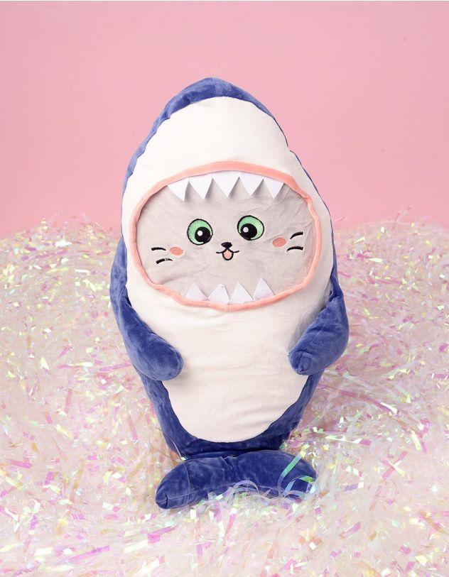 Іграшка м'яка у вигляді акули котика | 244494-13-XX - A-SHOP