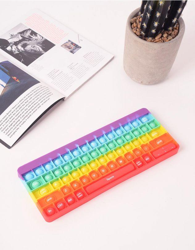 Іграшка антистрес pop it у вигляді клавіатури | 248971-21-XX - A-SHOP