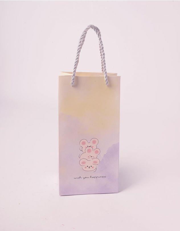 Пакет з малюнком мишенят | 240707-35-XX