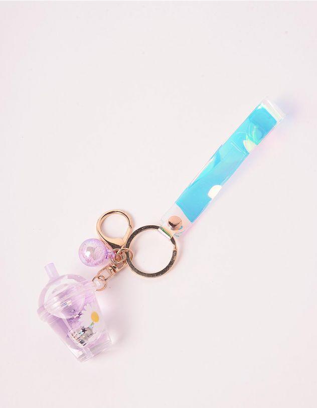 Брелок на сумку що світиться у вигляді склянки з напоєм   242908-03-XX - A-SHOP