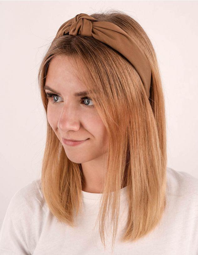 Обідок для волосся з вузлом | 237819-53-XX - A-SHOP