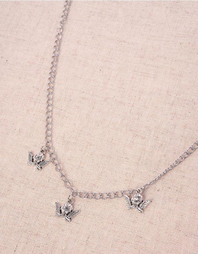 Підвіска на шию з кулонами у вигляді янголів | 244068-05-XX - A-SHOP