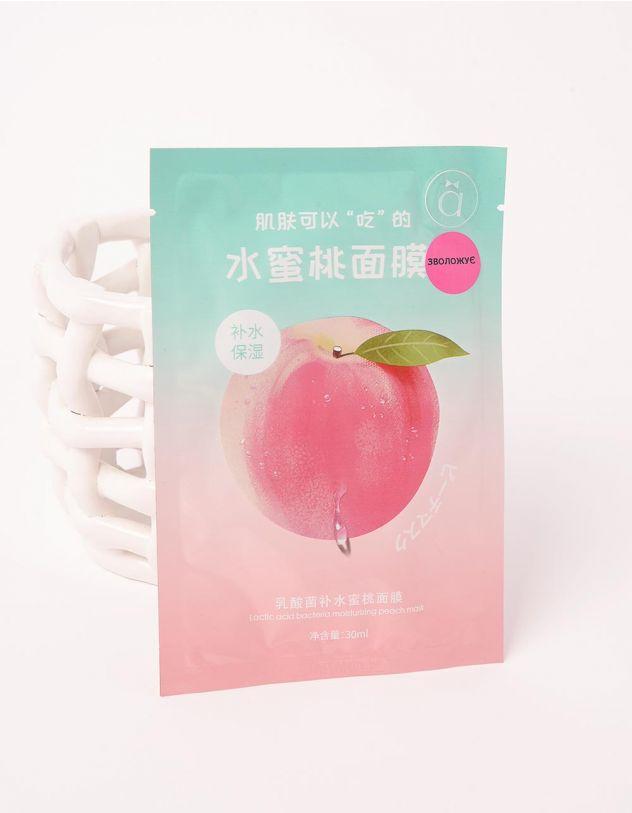Маска для обличчя з принтом яблука | 249178-18-XX - A-SHOP