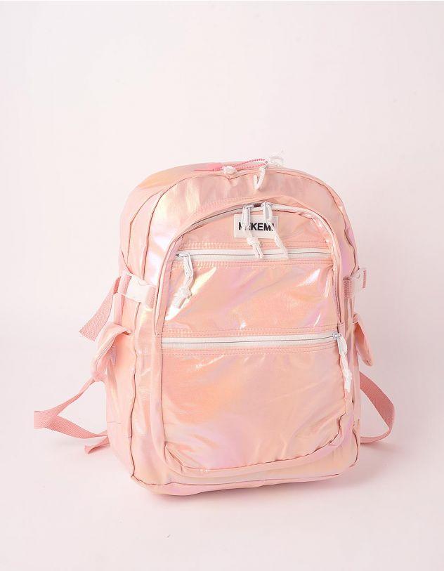 Рюкзак для міста з кишенями голографічний | 248981-14-XX - A-SHOP
