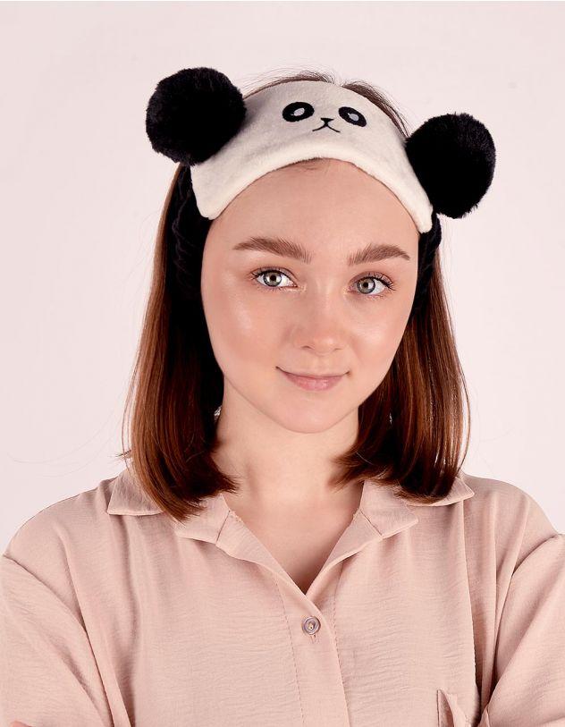 Пов'язка на голову із зображенням панди | 245989-01-XX - A-SHOP