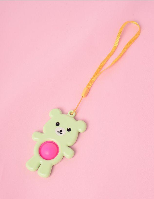 Іграшка антистрес pop it simple dimple у вигляді ведмедика | 249447-37-XX - A-SHOP