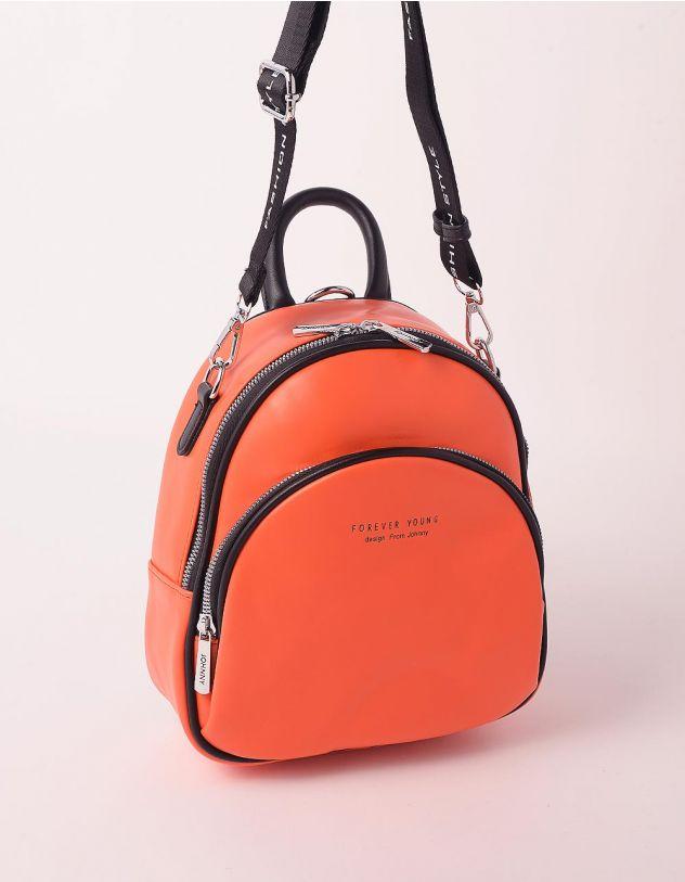 Рюкзак трансформер з кишенею на блискавці | 247607-26-XX - A-SHOP