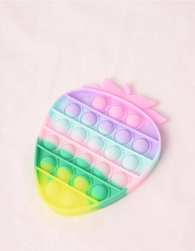 Іграшка антистрес pop it у вигляді полуниці | 248967-21-XX - A-SHOP