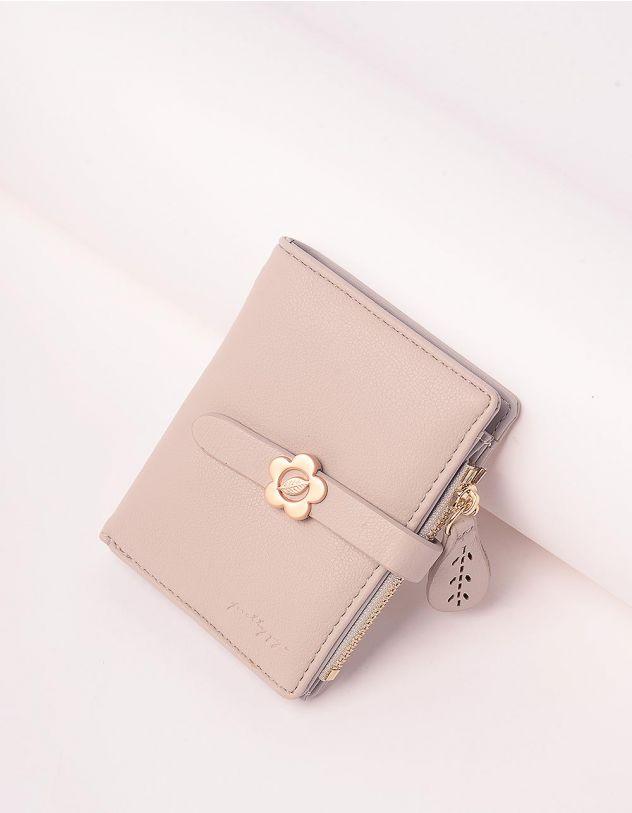 Гаманець портмоне жіночий з ромашкою на шльовці | 244924-11-XX - A-SHOP