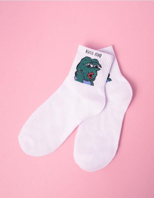 Шкарпетки з молодіжним принтом | 241085-20-XX - A-SHOP