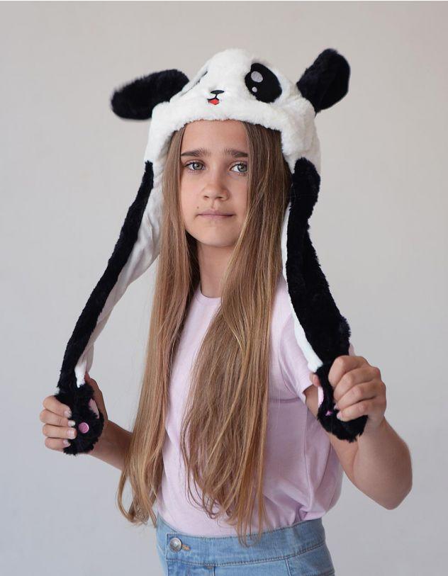 Звірошапка із зображенням панди | 248775-02-XX - A-SHOP