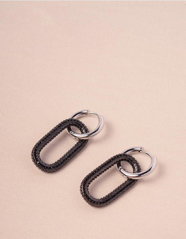 Сережки з кільцями   241158-02-XX - A-SHOP