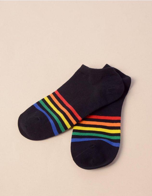 Шкарпетки смугасті | 241169-02-XX - A-SHOP